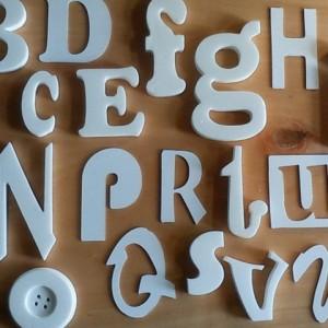 pvc letras