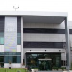 revestimientos de aluminio compuesto Hospital britanico