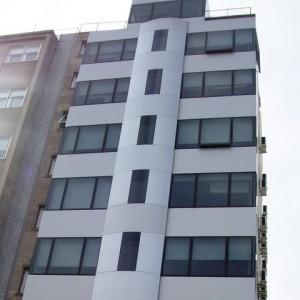 revestimientos de aluminio compuesto departamentos